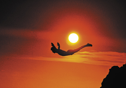 salto no abismo