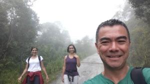 Descendo o morro da Macela, em Cunha-SP