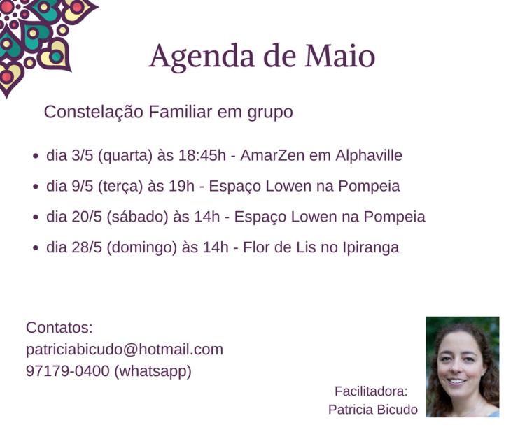 agenda maio4