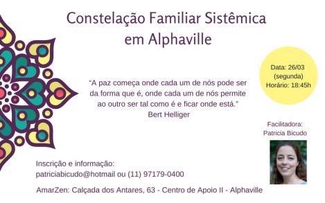 Constelação Familiar em Alphaville, com PatriciaBicudo
